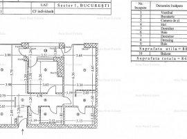 3 camere Herastrau - BLOC NOU; comision 0%