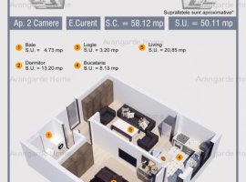 Apartament 2 Camere!!!