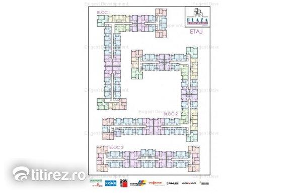 Apartament 2 camere zona Plaza Romania