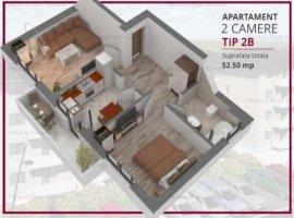 Vanzare  apartament  cu 2 camere  decomandat Iasi, Iasi  - 50500 EURO