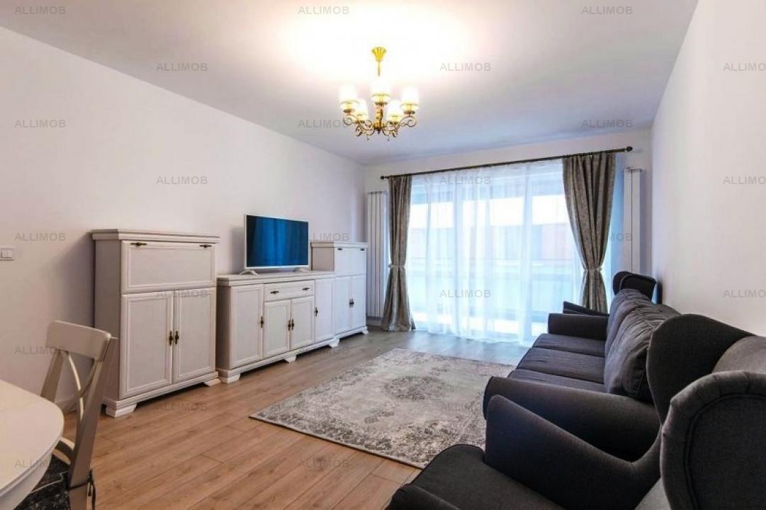 Apartament 2 camere in ansamblu rezidential, zona Pipera