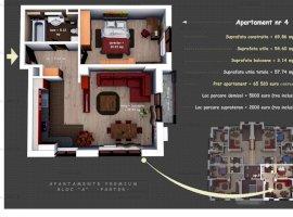 Apartament 2 camere, lux, constructie 2020, cartier rezidential, Ploiesti