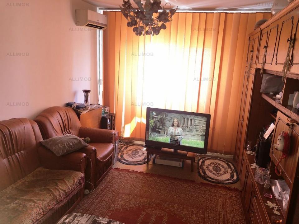 3-room apartment, separate rooms, air conditioning, Mihai Bravu street, Ploiesti