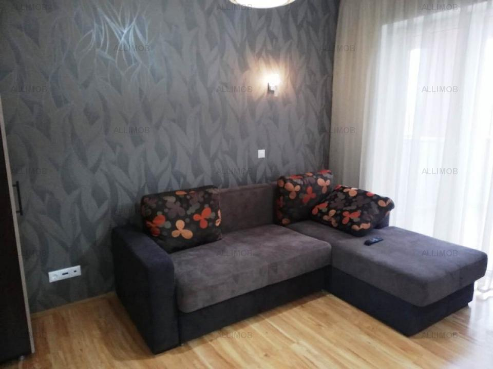 Studio apartment in a new residential area