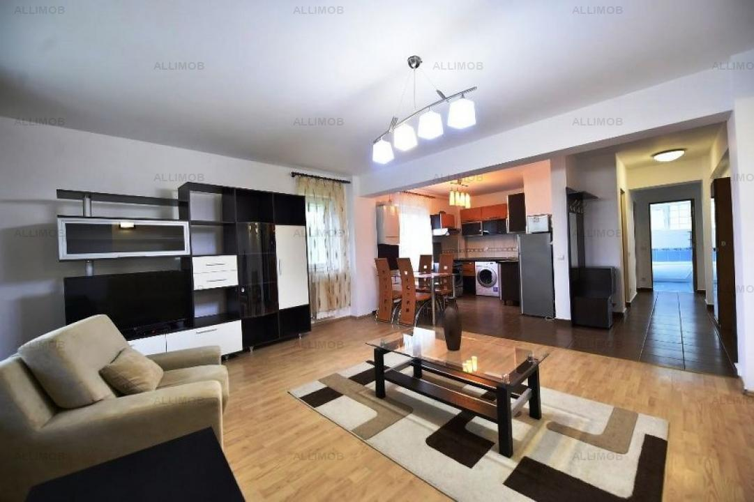 Apartament 3 camere in ansamblul rezidential Greenfield, zona Baneasa