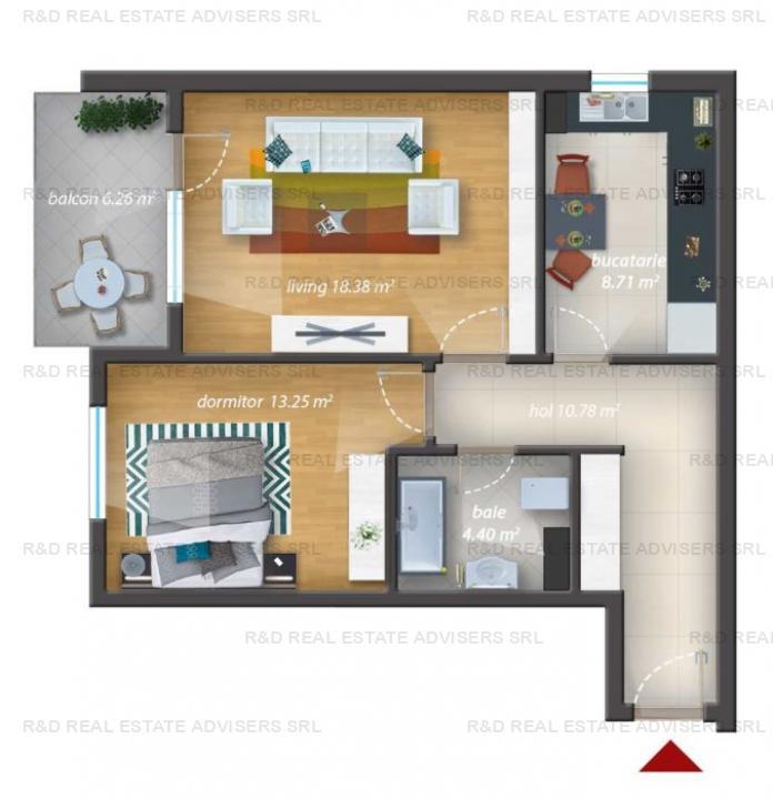 2 Camere | Finisaje Premium | Piscina Exterioara | Comision 0%