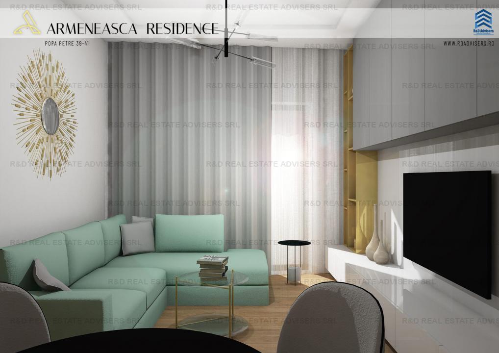 Apartament 3 Camere- Armeneasca/Mosilor- Start Proiect- Comision O!