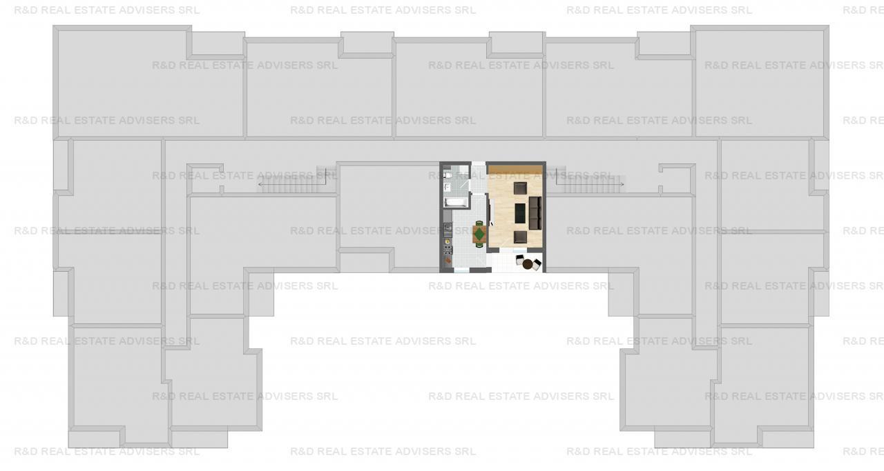 Studio - Ghencea Park - Decomandat - Comision 0%