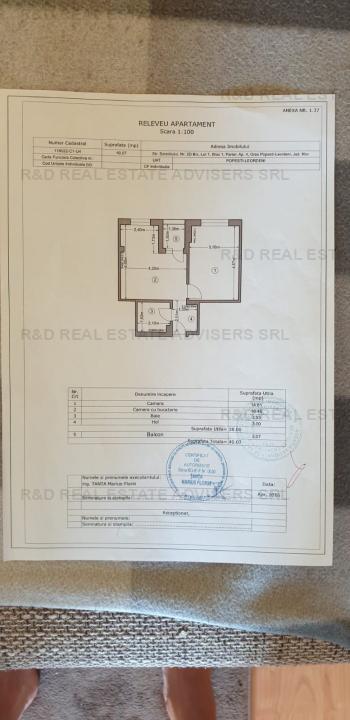 Apartament 2 camere - 7 min Metrou Dimitrie Leonida - Berceni