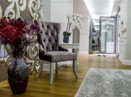 Apartament superb cu  finisaje de lux, 205 mp utili si curte de 170 mp