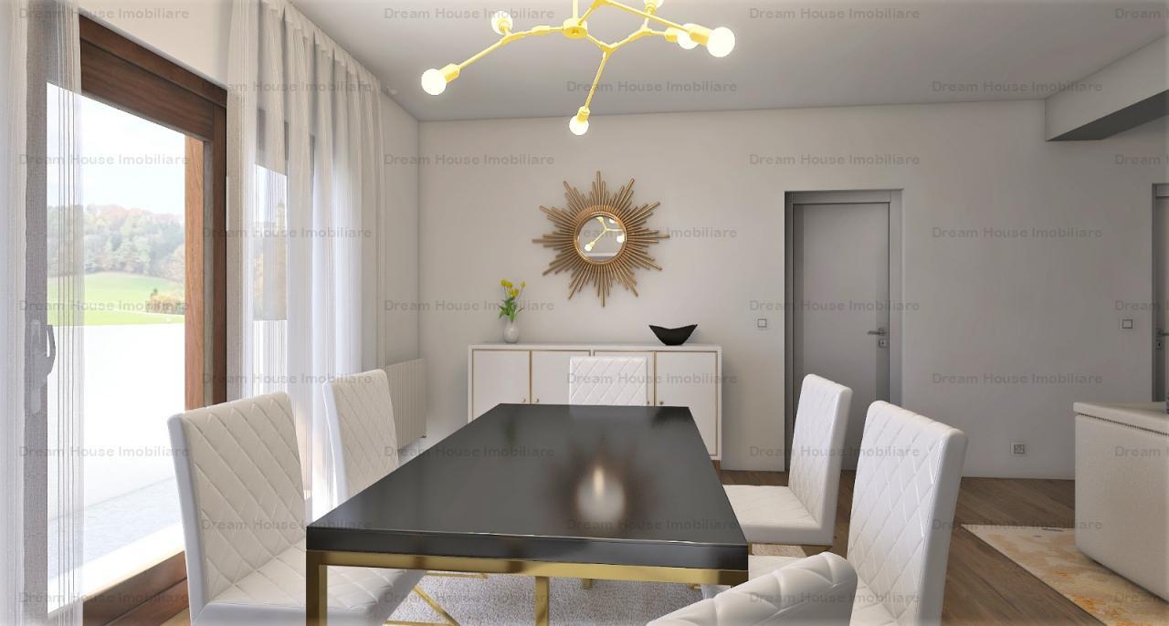 Apartament de lux SISESTI/2 COCOSI, 4 camere si curte de 112 mp