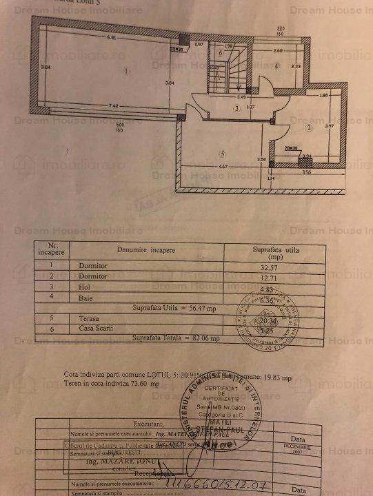 Duplex 4 camere 2 Terase Garaj Subteran Nordului