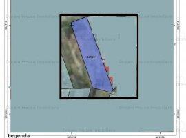 Teren 424mp cu deschidere 10ml in Zona Damaroaia