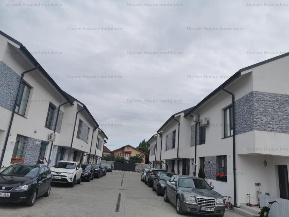 Vila finalizata, cu mansarda facuta, disponibila imediat