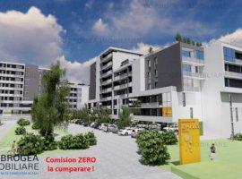 Complex E3 PLUS, Garsoniera et 2, bucatarie separata, totul nou, centrala, lift