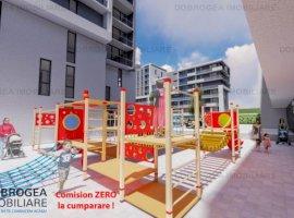 E3 PLUS, 2 camere, decomandat, spatii verzi, loc de joaca pt copii