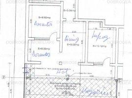 C5, apartament extins in spatiu comercial, vitrina 28 m2