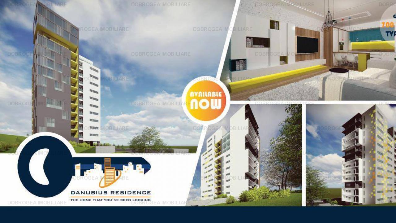 Danubius Residence, garsoniere, 2-3 camere la CHEIE, COMISION 0%
