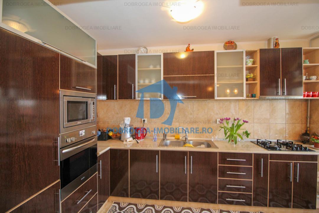 Mircea Voda, 3 cam, complet mobilat, centrala termica, 2 balcoane