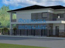 Baltag, teren 362 mp+proiect casa P+1, fundatie cota 0