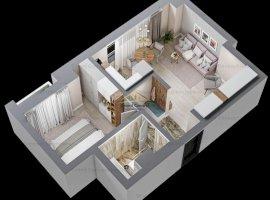 Apartament 2 camere, Tatarasi, 38.61mp