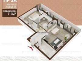 Apartament 3 camere, Copou, 88mp Copou,  79.650EUR      Cod oferta: 16282