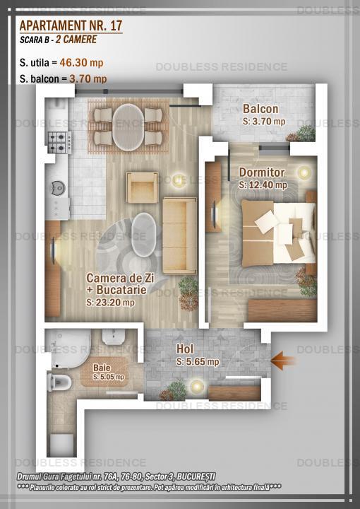 Apartament 2 Camere, Titan, Pallady, Ozana, Salajan