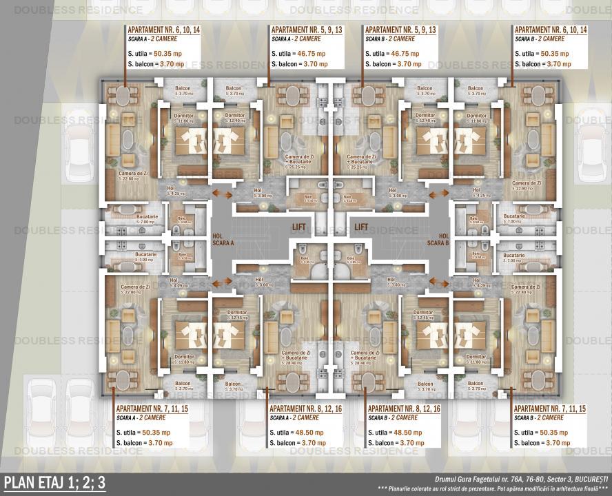 Apartamente 4 Camere, Ozana, Titan