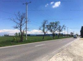 Teren cu utilitati ideal logistica 101703mp zona industriala Ploiesti