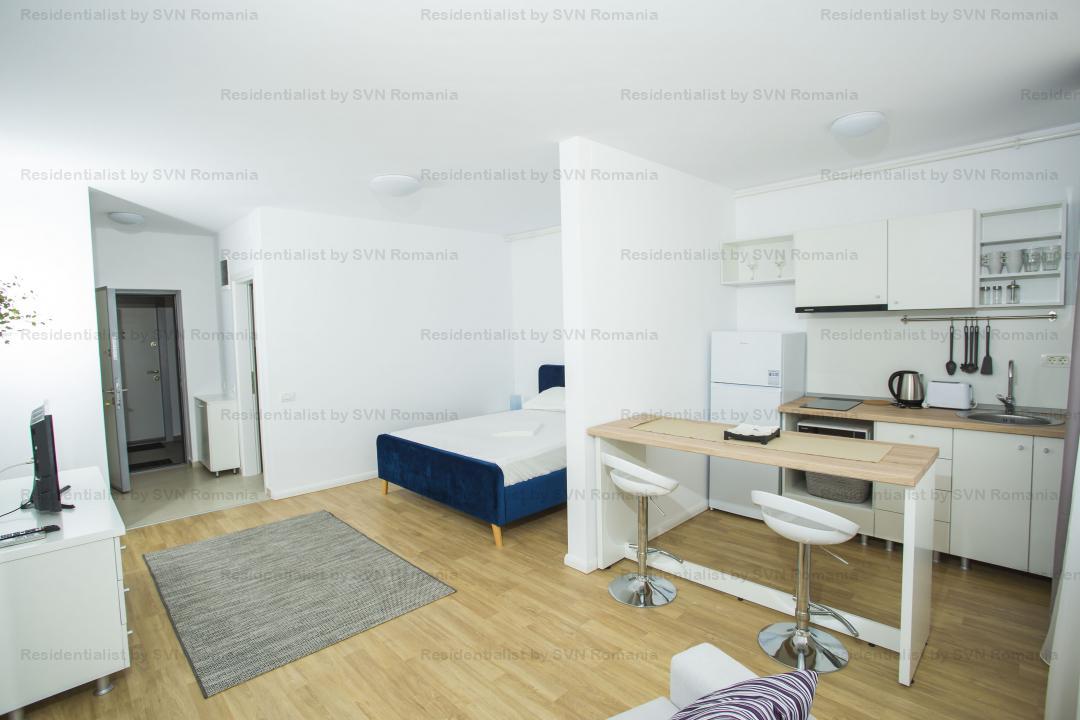 Studio finalizat - zona Floreasca-Barbu Vacarescu