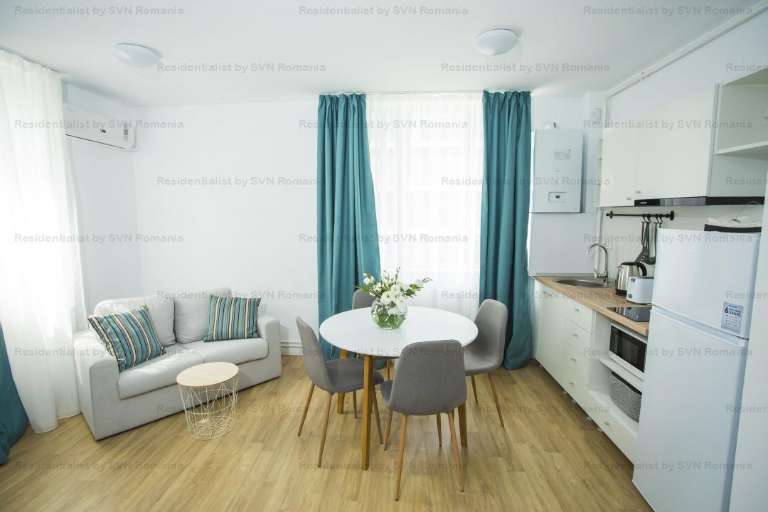 Studio finalizat - zona Floreasca - Ideal investitie