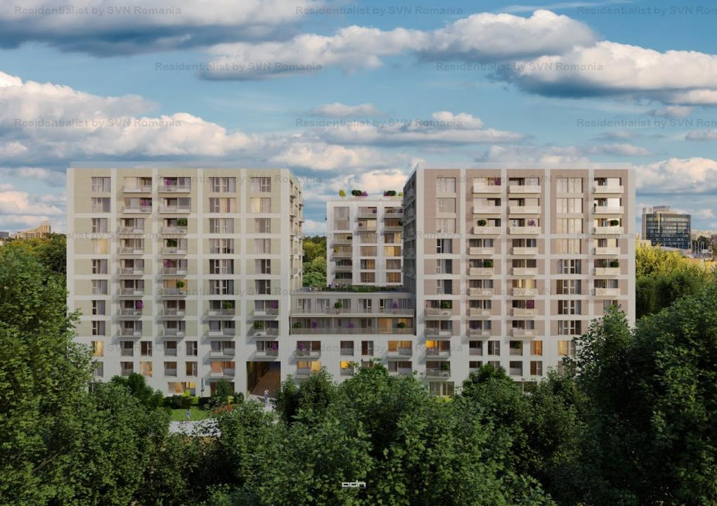 Aviatiei Park II by Forte Partners - 2 camere Tip 1