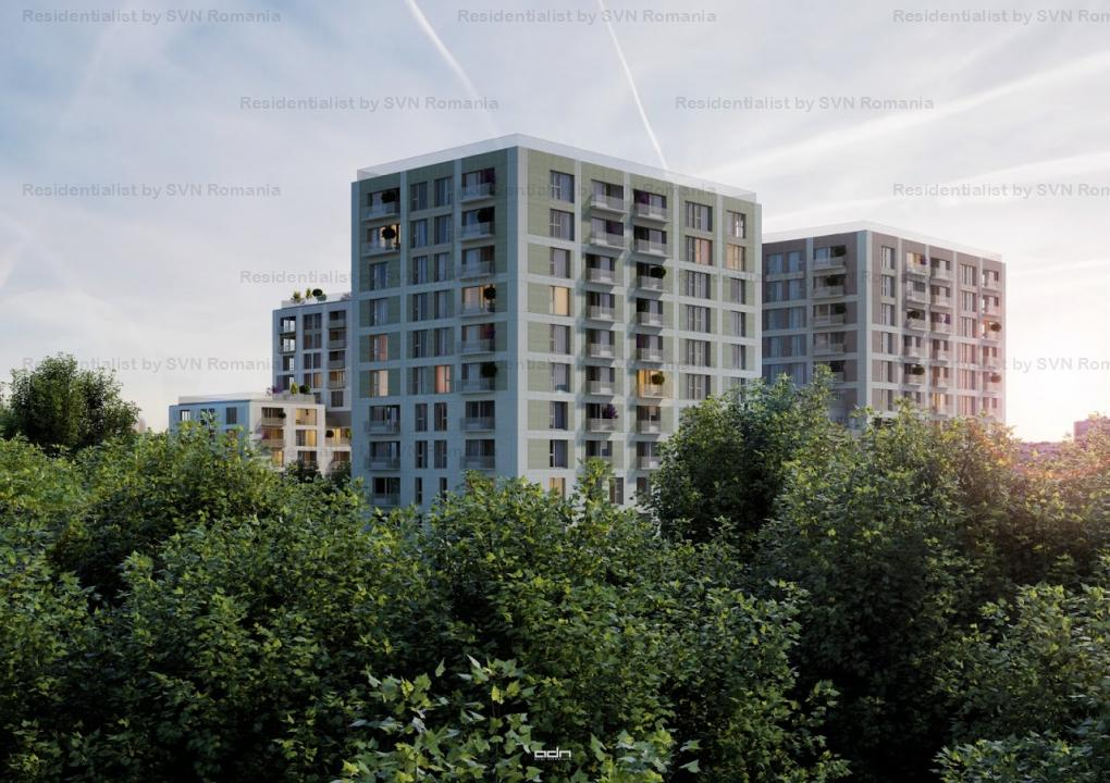 Aviatiei Park II by Forte Partners - 2 camere Tip 3