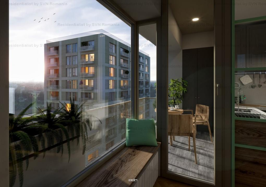 Aviatiei Park II by Forte Partners - 2 camere Tip 1p