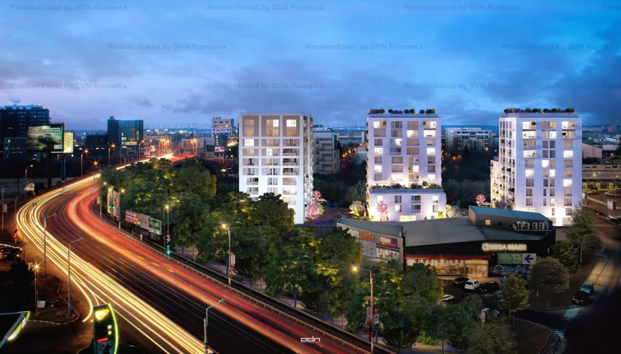 Aviatiei Park II by Forte Partners - 3 camere Tip 2p