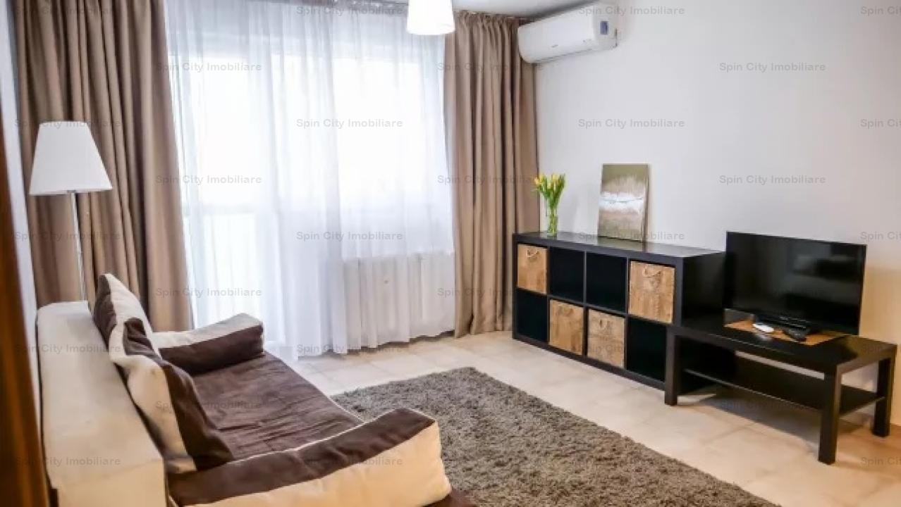 Apartament cu 2 camere mobilat si utilat modern in zona Hanul Drumetului