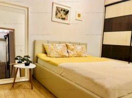 Apartament 2 camere lux,curte proprie,la 1 minut de parcul Bazilescu