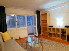 Apartament 2 camere Piata Alba Iulia-Decebal,in bloc reabilitat,cu centrala proprie