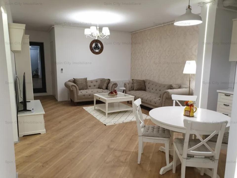 Apartament 3 camere lux,cu parcare subterana,prima inchiriere,recent finalizat,Pipera Plaza