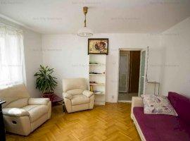 Apartament 2 camere mobilat si utilat,in bloc reabilitat,al 4 minute de metrou Titan/parc IOR