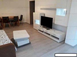 Apartament 2 camere mobilat/utilat modern,etaj 1/4,Bucurestii Noi-Pajura,la 5 min de metrou Jiului