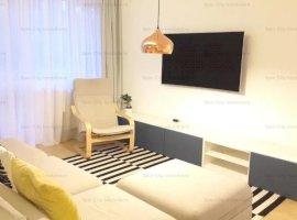 Apartament 3 camere lux,cu parcare,acces cu telecomanda,zona Pallady