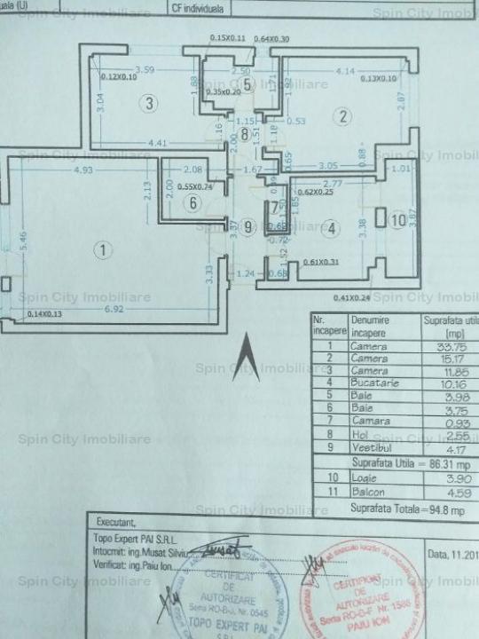 Apartament 3 camere foarte spatios, cu centrala proprie, Brancusi, 7 min metrou,parcare adp