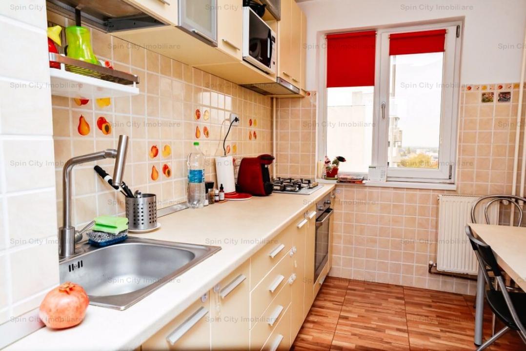 Apartament 3 camere renovat, mobilat si utilat modern,Bucurestii Noi/Parc Bazilescu,cu parcare