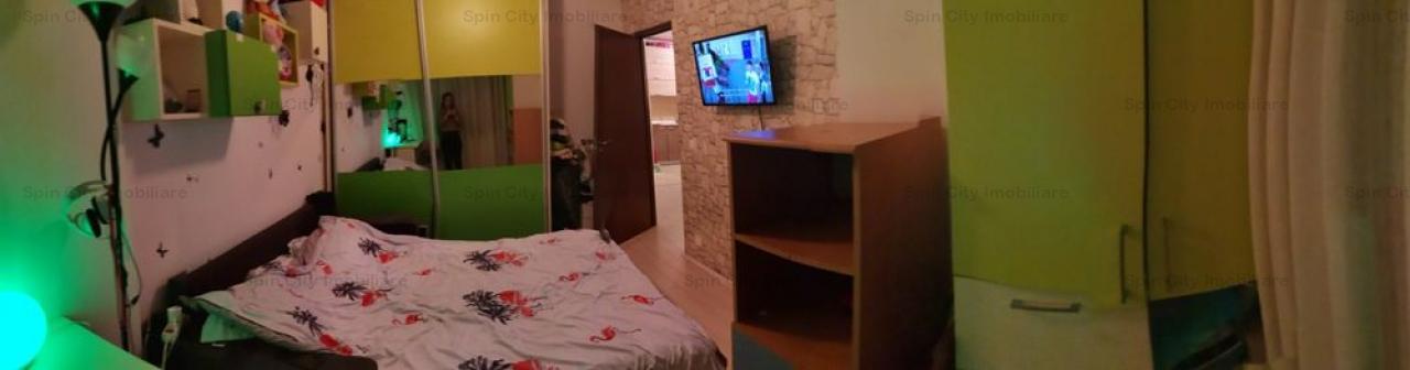 Apartament 3 camere complet mobilat si utilat,Bucurestii Noi, metrou Laminorului/Parc Bazilescu