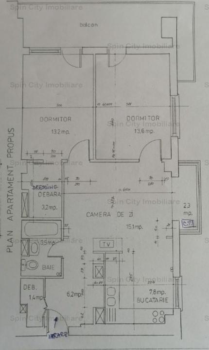 Apartament 3 camere cu centrala proprie Cora Lujerului-2 min de metrou