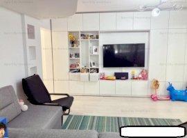 Apartament 3 camere lux, renovat, centrala proprie, parcare ADP, Pajura