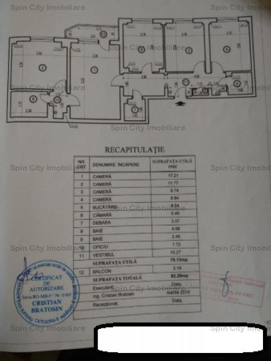 Apartament 4 camere Colentina-Plumbuita
