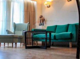 Apartament 3 camere, mobilat-utilat, balcon 12 mp in zona Damaroaia