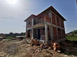 Vila individuala 4 camere zona retrasa in Ciorogarla